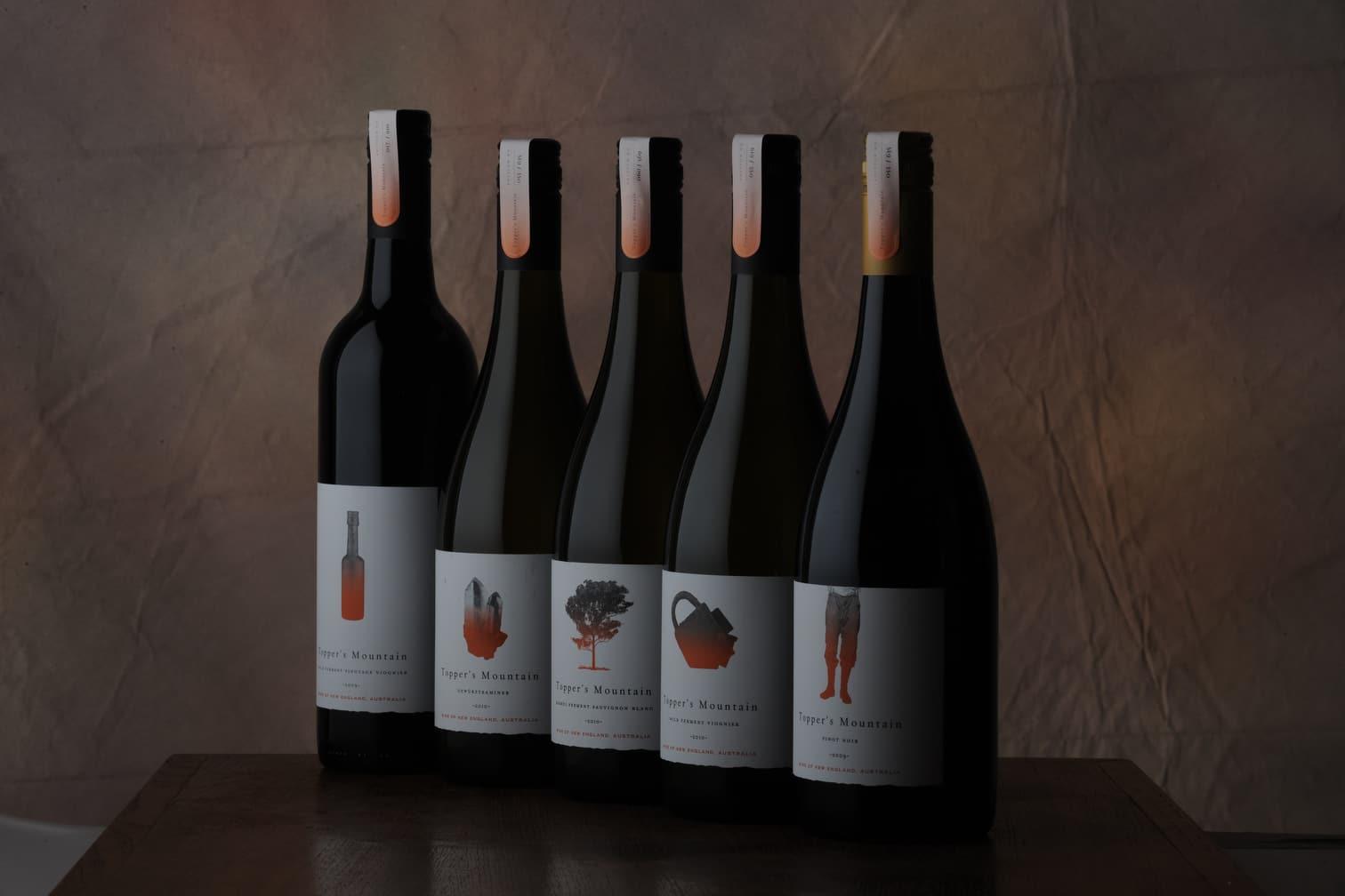 Huon hooke reviews topper's mountain wines Nebbiolo - New England region Australia
